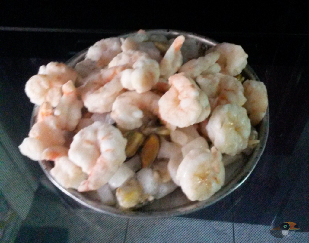 paste picante cu fructe de mare