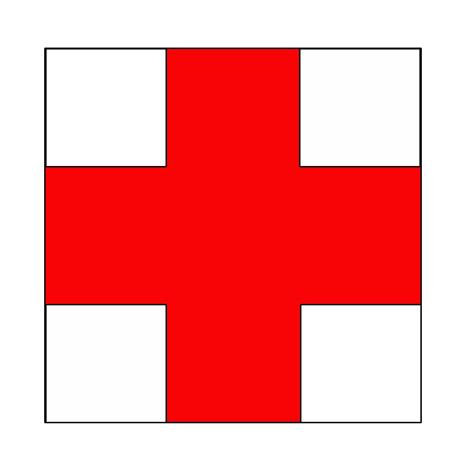 marcaj cruce rosie