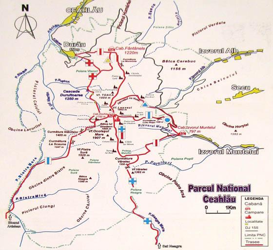 harta-trasee-turistice-ceahlau